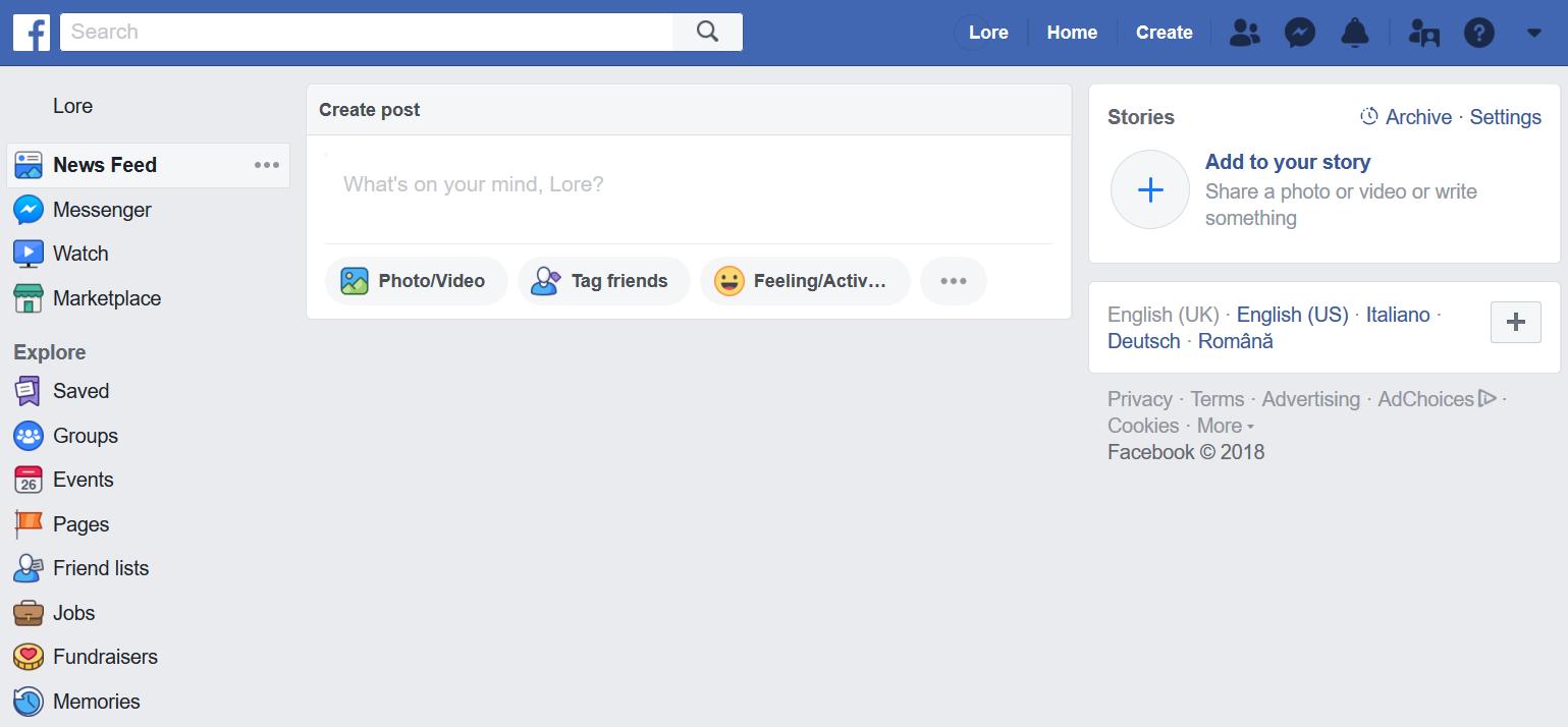facebook delete post gone