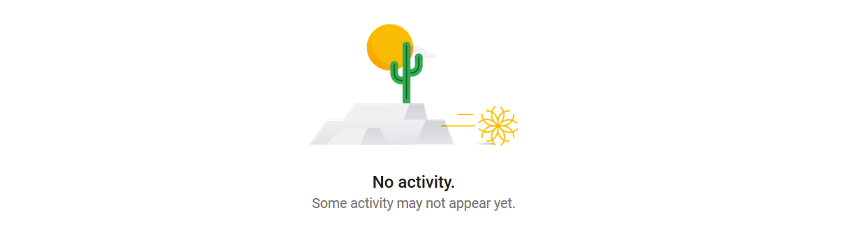 Google Maps No Activity Recorded, Yet